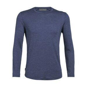 Pánské funkční triko Icebreaker Mens Sphere LS Crewe Velikost: XL / Barva: modrá