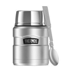 Termoska na jídlo Thermos Style 470 ml Barva: stříbrná