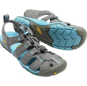 Dámské sandály Keen Clearwater CNX W Velikost bot (EU): 39,5 (9) / Barva: šedá/modrá
