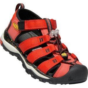Dětské sandály Keen Newport Neo H2 Dětské velikosti bot: 35 / Barva: červená