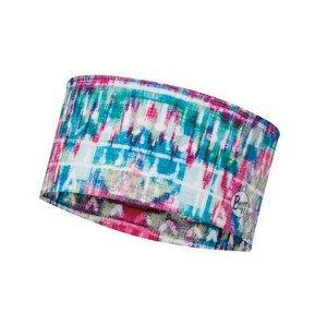 Čelenka Buff Coolnet UV+ Headband Barva: tyrkysovo-vínovo-tyrkysová