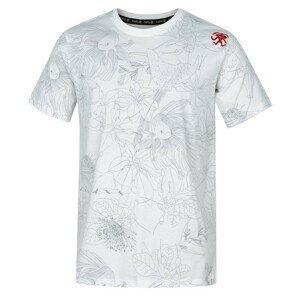Pánské triko Rafiki Slack Print Velikost: M / Barva: bílá/šedá