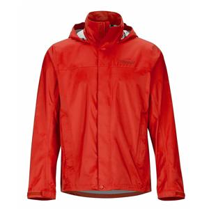 Pánská bunda Marmot PreCip Eco Jacket Velikost: M / Barva: červená/oranžová
