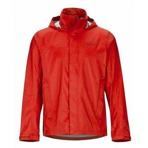 Pánská bunda Marmot PreCip Eco Jacket Velikost: L / Barva: červená/oranžová