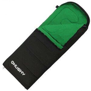 Spacák Husky Gala 0°C Zip: Pravý / Barva: černá/zelená