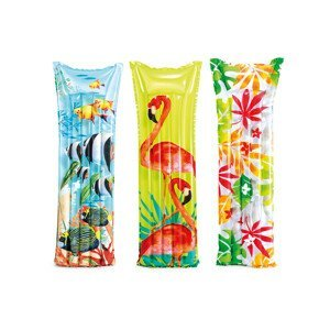 Nafukovací lehátko Intex Fashion Mats 59720EU barva: květiny