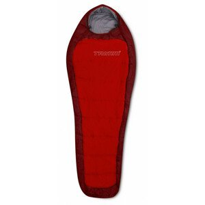 Spacák Trimm Impact 185 cm Zip: Pravý / Barva: červená