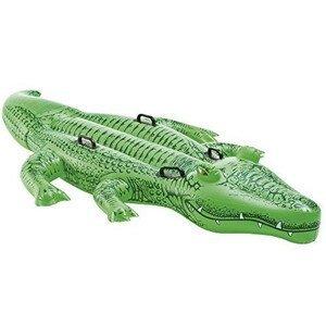 Nafukovací krokodýl Intex Giant Gator RideOn 58562NP Barva: zelená