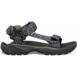 Pánské sandály Teva Terra Fi 5 Universal Velikost bot (EU): 48,5 / Barva: modrá/černá