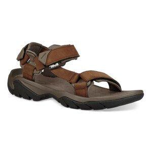 Pánské sandály Teva Terra Fi 5 Universal LTR Velikost bot (EU): 48,5 (14) / Barva: hnědá