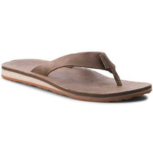 Pánské žabky Teva Classic Flip Premium Leather Velikost bot (EU): 45,5 (12) / Barva: hnědá
