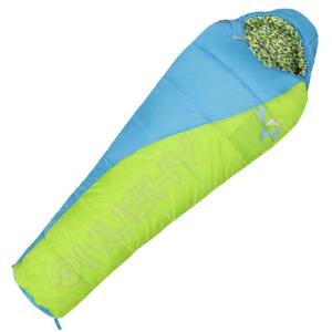 Spacák Husky Kids Merlot -10°C Barva: zelená / Zip: Pravý