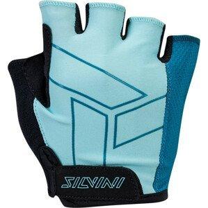 Dámské cyklo rukavice Silvini Enna WA1445 Velikost rukavic: L / Barva: světle modrá