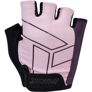 Dámské cyklo rukavice Silvini Enna WA1445 Velikost rukavic: L / Barva: růžová