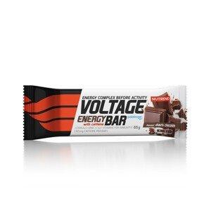 Tyčinka Nutrend Voltage Energy with Caffeine Příchuť: hořká čokoláda