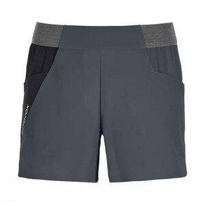 Dámské kraťasy Ortovox Piz Selva Light Shorts W Velikost: M / Barva: černá