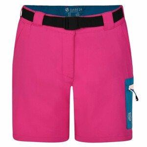 Dámské kraťasy Dare 2b Revify Short Velikost: XL (16) / Barva: růžová