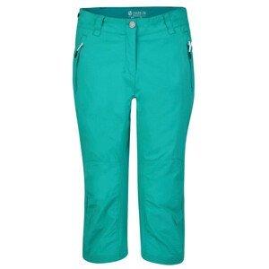 Dámské 3/4 kalhoty Dare 2b Melodic II 3/4 Velikost: S (10) / Barva: zelená