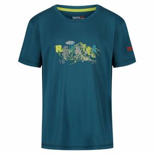 Dětské triko Regatta Alvarado IV Sea Blue Dětská velikost: 104 / Barva: modrá