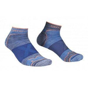 Pánské ponožky Ortovox Alpinist Low Socks M Velikost ponožek: 45-47 / Barva: šedá/modrá