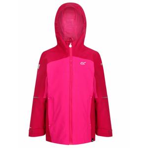 Dětská bunda Regatta Hipoint Strtch IV Dětská velikost: 140 (9-10) / Barva: růžová