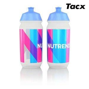 Láhev bidon Nutrend 2019 Tacx 0,5l Barva: modrá/růžová