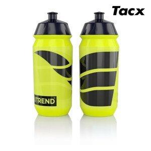 Láhev bidon Nutrend 2019 Tacx 0,5l Barva: žlutá/černá