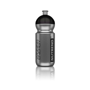 Láhev bidon Nutrend Metalic 500ml Barva: stříbrná