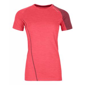 Dámské funkční triko Ortovox W´s 120 Cool Tec FF TS Velikost: M / Barva: červená