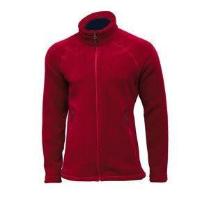 Pánská mikina Pinguin Montana Jacket Velikost: M / Barva: červená