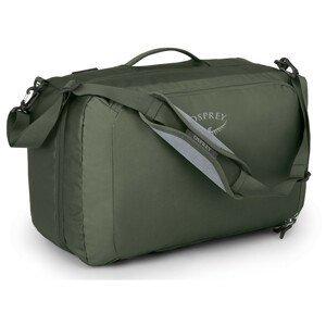 Cestovní taška Osprey Transporter Global Carry-On 36 Barva: zelená