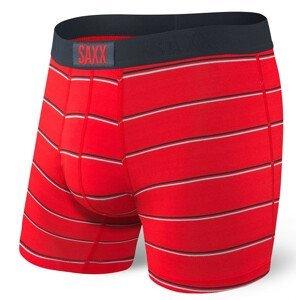 Boxerky Saxx Vibe Boxer Brief Velikost: M / Barva: červená