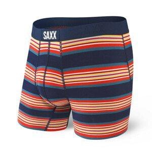 Boxerky Saxx Ultra Boxer Brief Fly Velikost: L / Barva: modrá/červená