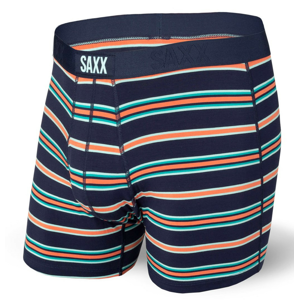 Boxerky Saxx Ultra Boxer Brief Fly Velikost: L / Barva: modrá/oranžová