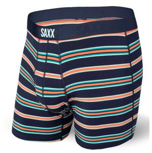 Boxerky Saxx Ultra Boxer Brief Fly Velikost: XL / Barva: modrá/oranžová