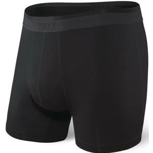 Boxerky Saxx Platinum Boxer Brief Fly Velikost: L / Barva: černá