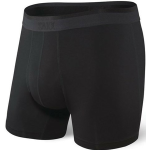 Boxerky Saxx Platinum Boxer Brief Fly Velikost: XL / Barva: černá