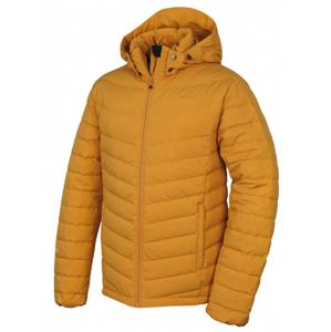 Pánská péřová bunda Husky Donnie M (2019) Velikost: XL / Barva: žlutá