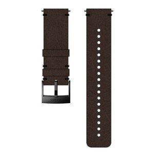 Řemínek Suunto 24mm Urban 2 Leather Strap Barva: tmavě hnědá