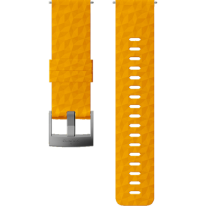 Řemínek Suunto 24mm Explore 1 Silicone Strap Barva: žlutá