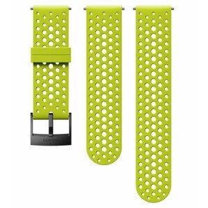 Řemínek Suunto 24mm Athletic 1 Silicone Strap Barva: světle zelená