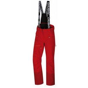 Dámské zimní kalhoty Husky Gilep L Velikost: XL / Barva: červená/černá