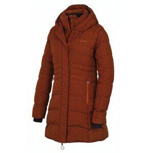 Dámský kabát Husky Normy L Velikost: XL / Barva: hnědá