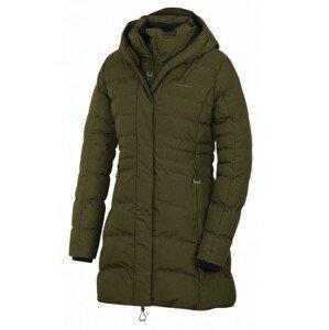 Dámský kabát Husky Normy L Velikost: L / Barva: tmavě zelená