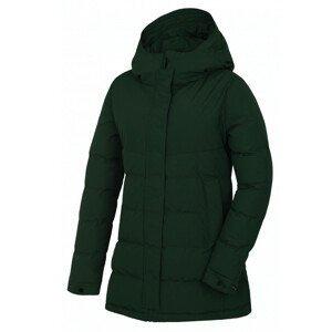 Dámský kabát Husky Nilit L Velikost: XL / Barva: zelená