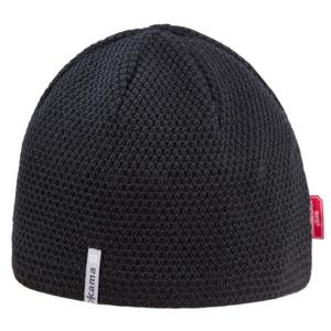 Pletená merino čepice Kama AW62 Barva: černá