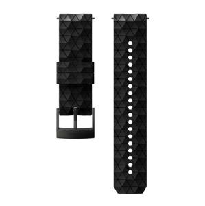 Řemínek Suunto 24mm Explore 2 Silicone Strap Barva: černá