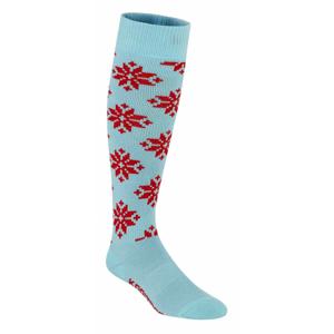 Ponožky Kari Traa Rose Sock Velikost ponožek: 36-37 / Barva: modrá/červená