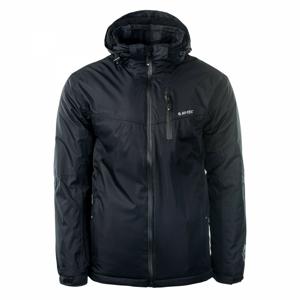Pánská zimní bunda Hi-Tec Brener Velikost: L / Barva: černá