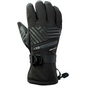 Lyžařské rukavice Hi-Tec Rodeno Velikost rukavic: S/M / Barva: černá